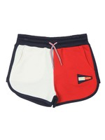 Colour Block Sweat Short
