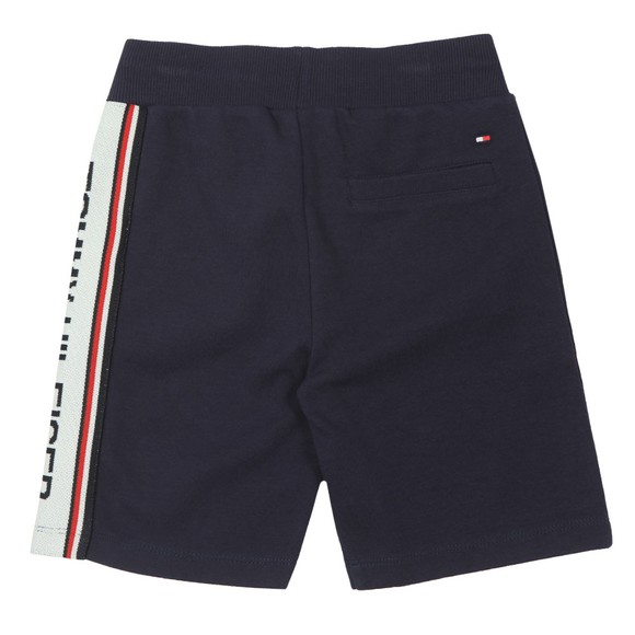 Tommy Hilfiger Kids Boys Blue Tape Logo Sweatshort main image