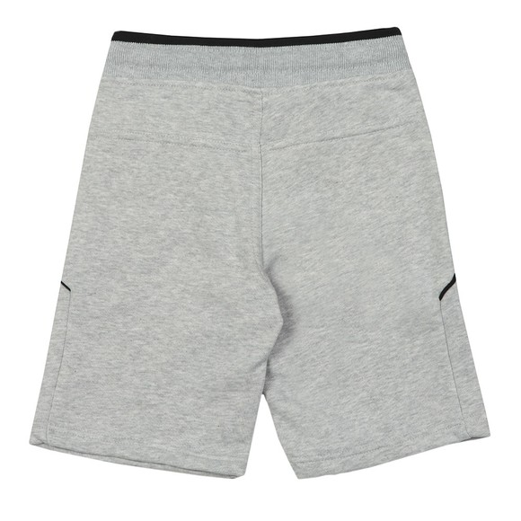 BOSS Boys Grey J24628 Logo Jersey Short