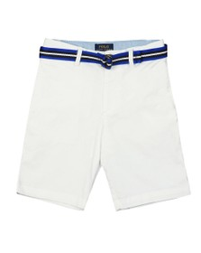 Polo Ralph Lauren Boys White Belted Chino Short