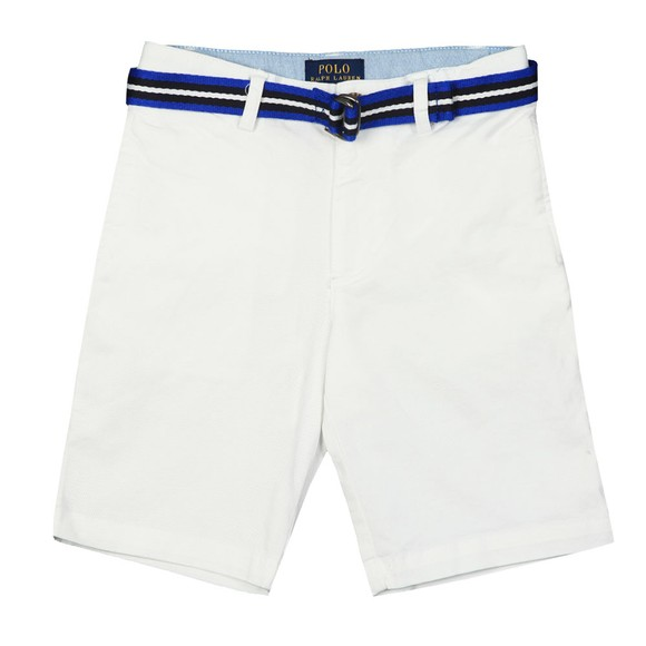 Polo Ralph Lauren Boys White Belted Chino Short