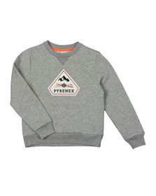 Pyrenex Boys Grey Charles Sweatshirt