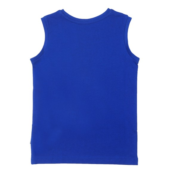 BOSS Boys Blue J25G17 Tank Top