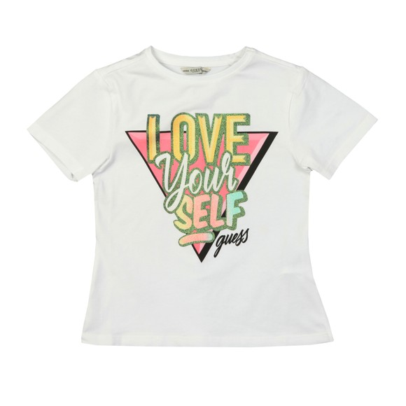 Guess Girls White Triangle LYS T-Shirt