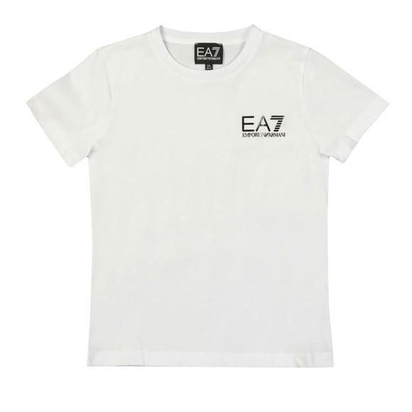 EA7 Emporio Armani Boys White 3HBT51 Crew T Shirt