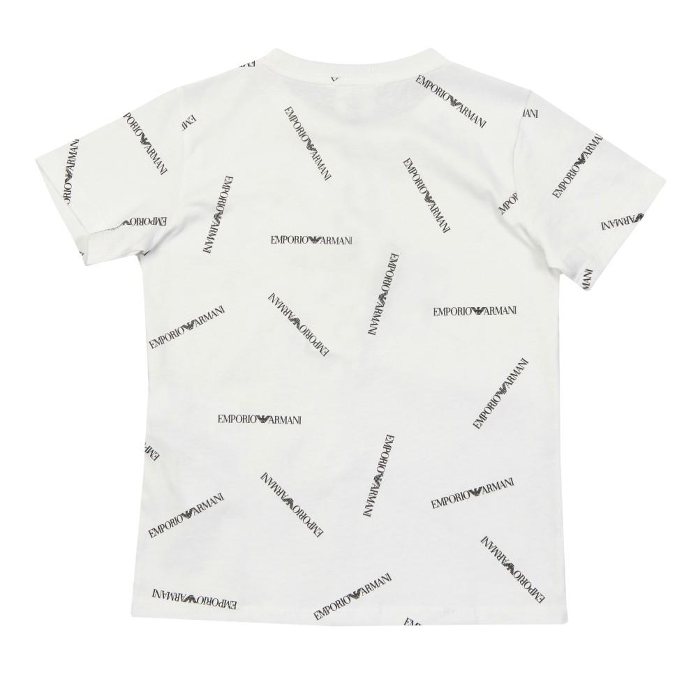 Allover Logo Crew T Shirt main image
