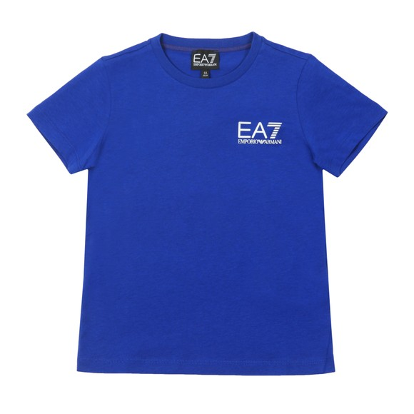 EA7 Emporio Armani Boys Blue 3HBT51 Crew T Shirt