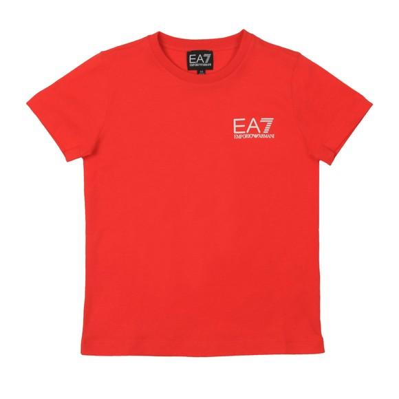 EA7 Emporio Armani Boys Red 3HBT51 Crew T Shirt