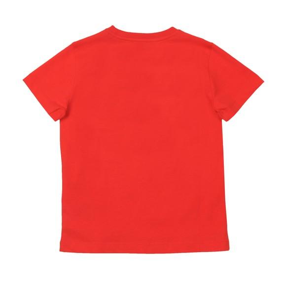 EA7 Emporio Armani Boys Red 3HBT51 Crew T Shirt main image