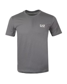 EA7 Emporio Armani Mens Grey Core T-Shirt
