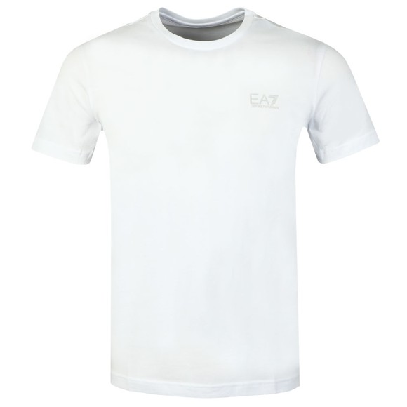 EA7 Emporio Armani Mens White Core T-Shirt main image