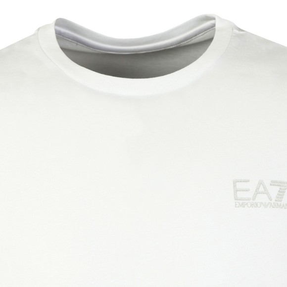 EA7 Emporio Armani Mens White Core T-Shirt