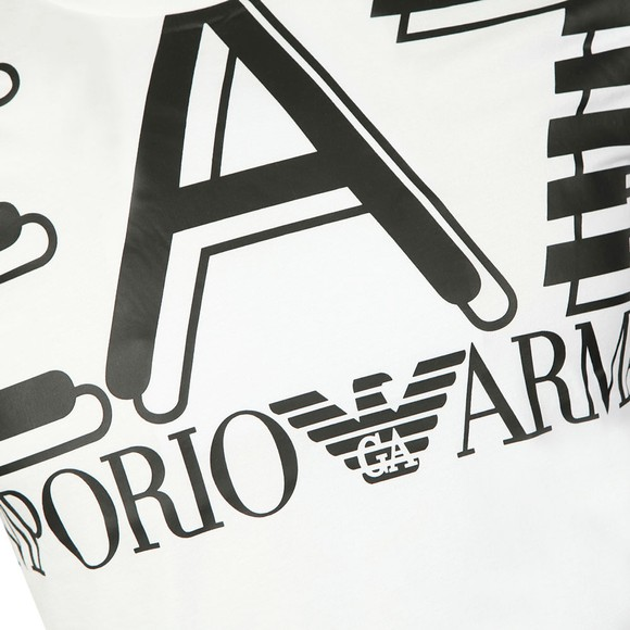 EA7 Emporio Armani Mens White Big Logo T-Shirt main image