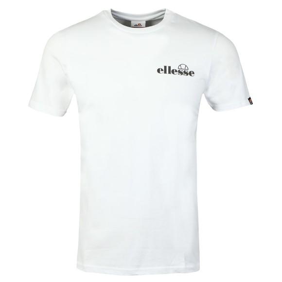 Ellesse Mens White Fondato T-Shirt main image