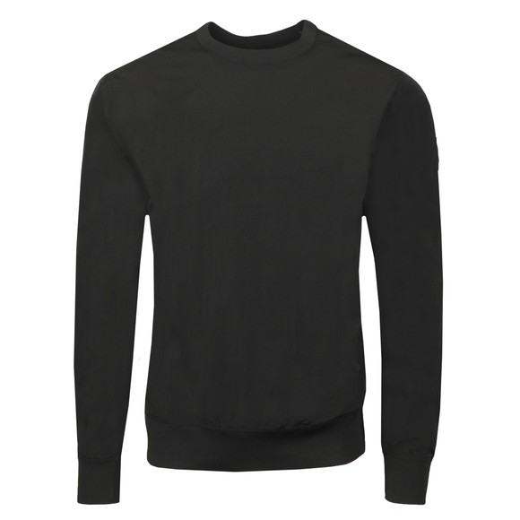 Weekend Offender Mens Black Nylon Long Sleeve Lightweight Top