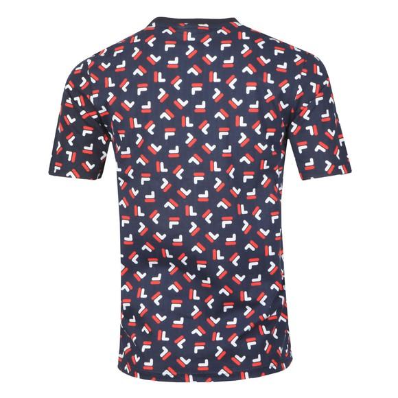 Fila Mens Multicoloured AOP T-Shirt main image