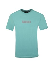 Nicce Mens Trellis Blue Base T-Shirt