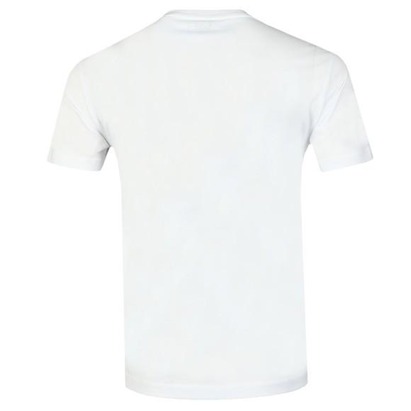 EA7 Emporio Armani Mens White Reflective Logo T-Shirt main image