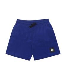 Weekend Offender Mens Blue Stacks Nylon Short
