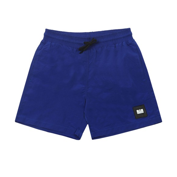 Weekend Offender Mens Blue Stacks Nylon Short