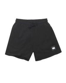 Weekend Offender Mens Black Stacks Nylon Short