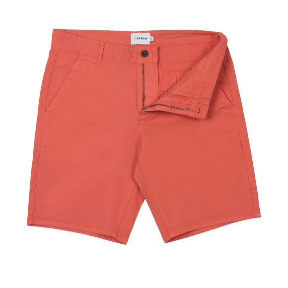 Farah Mens Red Hawk Chino Short
