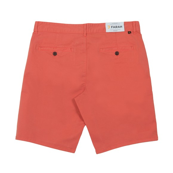 Farah Mens Red Hawk Chino Short main image