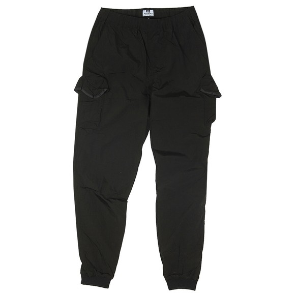 Weekend Offender Mens Black Franzese Nylon Jogger