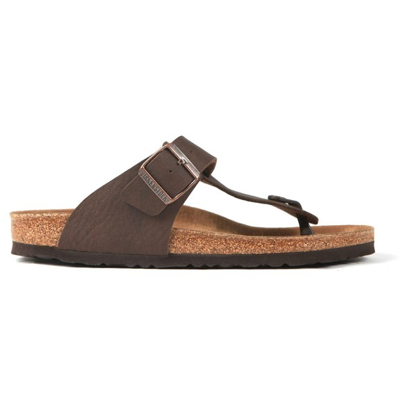 Birkenstock Mens Saddle Matt Brown Medina Sandal