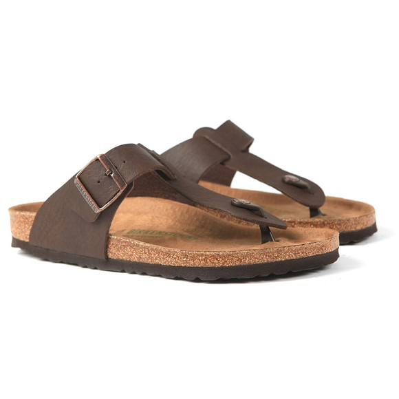 Birkenstock Mens Saddle Matt Brown Medina Sandal main image