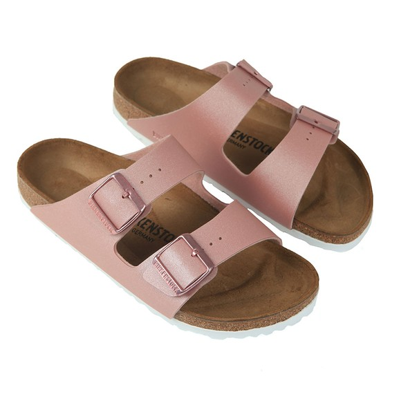 Birkenstock Womens Icy Metallic Old Rose Arizona Sandal main image