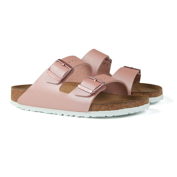 Birkenstock Womens Icy Metallic Old Rose Arizona Sandal