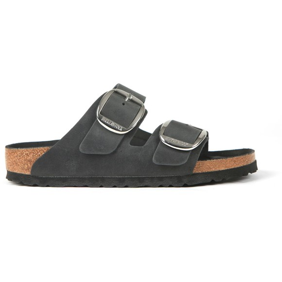 Birkenstock Womens Black Arizona Big Buckle Sandal