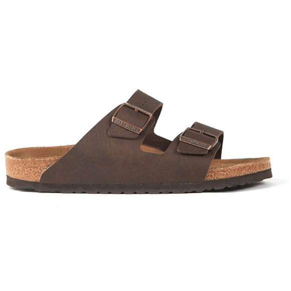 Birkenstock Mens Saddle Matt Brown Arizona Sandal