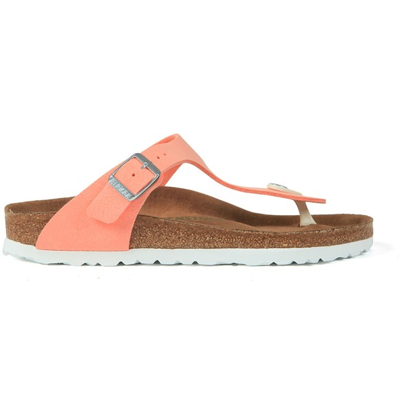 Birkenstock Womens Brushed Flamingo Gizeh Sandal
