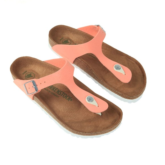 Birkenstock Womens Brushed Flamingo Gizeh Sandal main image