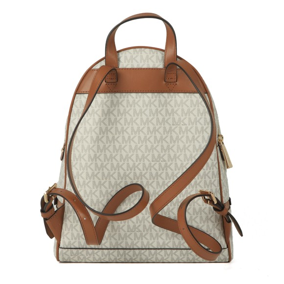 Michael Kors Womens Off-White Rhea Zip Backpack main image