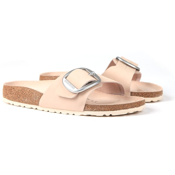 Birkenstock Womens Pink Madrid Big Buckle Sandal
