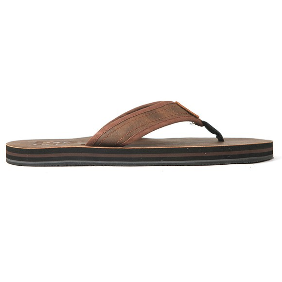 Superdry Mens Brown Premium Flip Flop