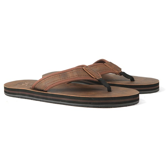 Superdry Mens Brown Premium Flip Flop main image