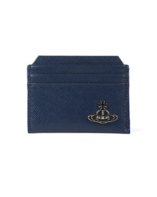 Vivienne Westwood Mens Blue Kent Slim Card Holder