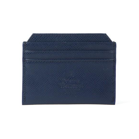 Vivienne Westwood Mens Blue Kent Slim Card Holder