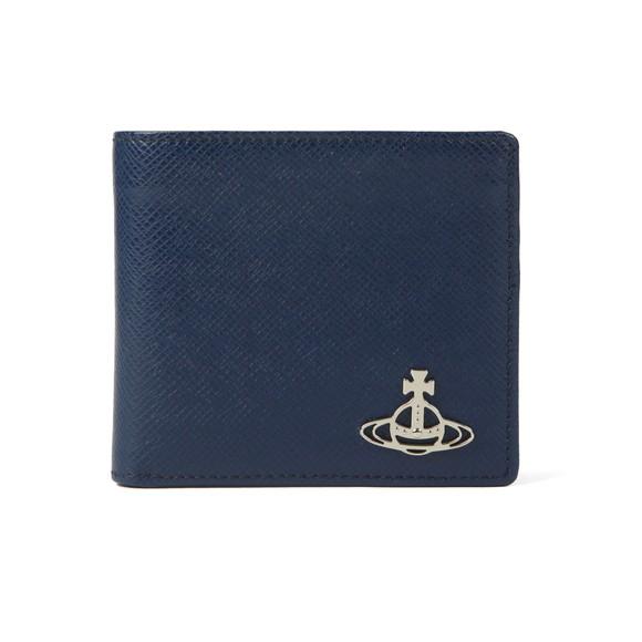 Vivienne Westwood Mens Blue Kent Man Billfold Wallet