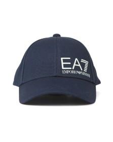EA7 Emporio Armani Mens Blue Core Logo Cap