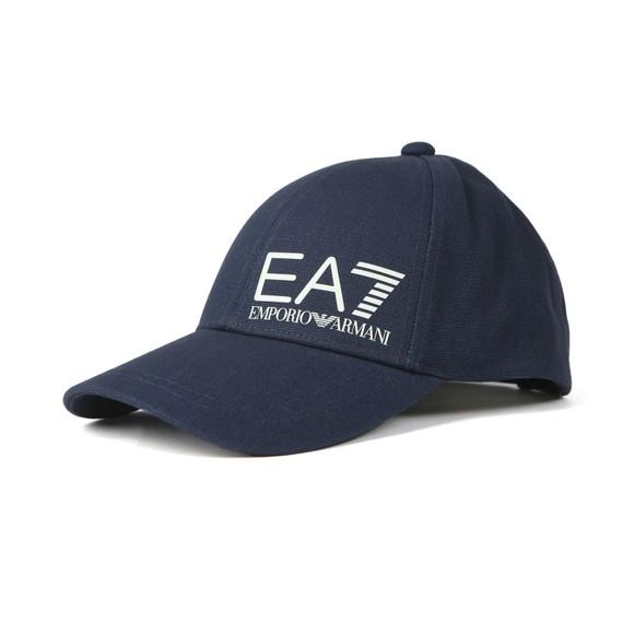 EA7 Emporio Armani Mens Blue Core Logo Cap main image