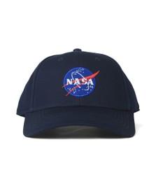 Alpha Industries Mens Blue NASA Cap