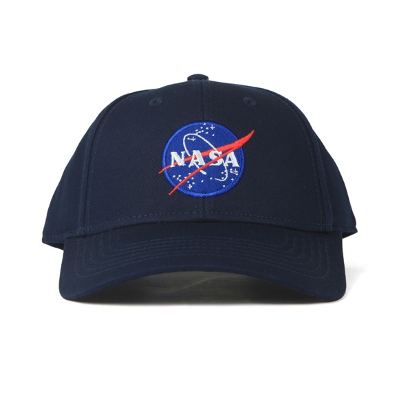 Alpha Industries Mens Blue NASA Cap
