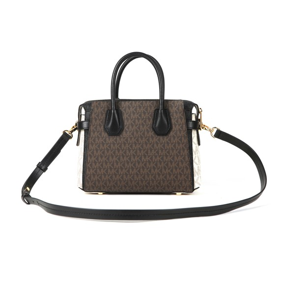 Michael Kors Womens Brown Mercer Belted Small Satchel main image