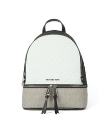 Michael Kors Womens Black Rhea Zip Backpack