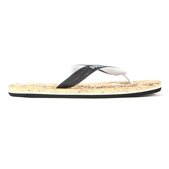 Superdry Mens Black Cork Flip Flop